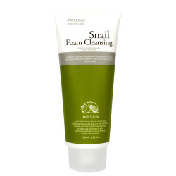 Пенка для умывания 3W CLINIC с экстрактом муцина улитки Snail Foam Cleansing, 100 мл