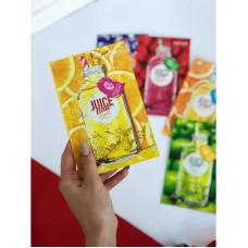 Тканинна маска для обличчя c екстрактом масла виноградних кісточок PERIPERA Juice Time Lemon Mask Sheet