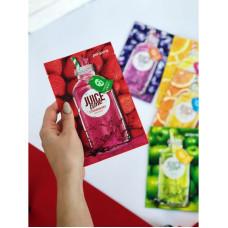 Тканинна маска для обличчя c екстрактом полуниці PERIPERA Juice Time Strawberry Mask Sheet