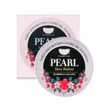 Гидрогелевые патчи для глаз с жемчугом и маслом ши Petitfee&Koelf Pearl & Shea Butter Eye Patch - 60 шт.