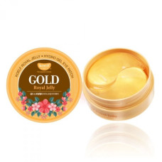 Гидрогелевые патчи для глаз с золотом и маточным молочком Petitfee&Koelf Gold & Royal Jelly Eye Patch - 60 шт.