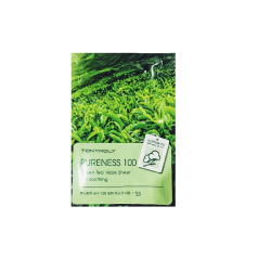 Листовая маска Tony Moly Pureness 100 Mask Sheet Green Tea Зеленый чай