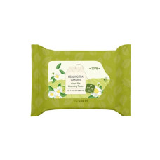 Очищающие салфетки The Saem Healing Tea Garden Green Tea Cleansing Tissue 20 шт