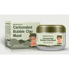 Маска очищающая пузырьковая Bioaqua Carbonated Bubble Clay Mask 100 г