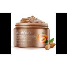 Cкраб для тіла Bioaqua з маслом мигдалю Almond Bright Skin Body Scrub 120 г