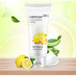Натуральная очищающая пенка ROREC everyday 365 cleansing foam с экстрактом лимона HC8203 120 гр.