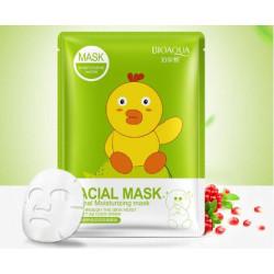 Маска с эссенцией коллагена и граната Bioaqua Fasial Animal Mask BQY8494 30мл.