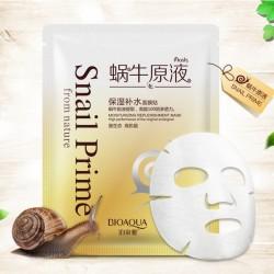 Нормализующая маска для лица Bioaqua с улиточным экстрактом Snail prime BQY4038