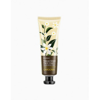 Крем для рук с экстрактом авокадо Rorec natural green hand cream gardenia HC5937