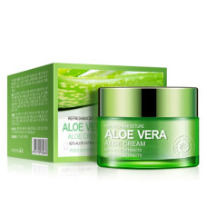 Крем для лица с алоэ вера 92% Bioaqua Aloe Vera Cream - 50 г