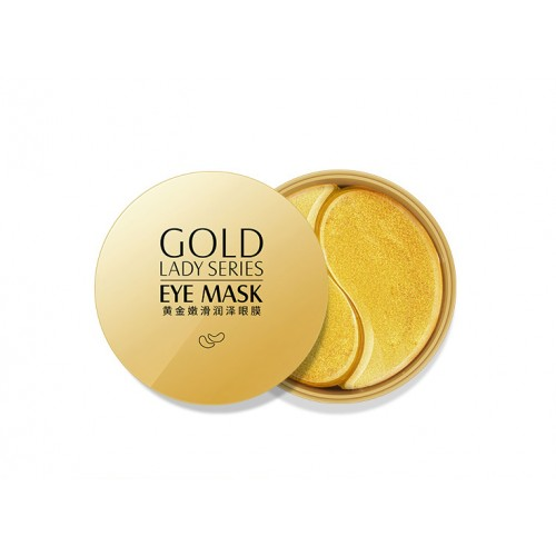 Гидрогелевые патчи c экстрактом золота 24K - Bioaqua Images Gentle Care Of The Eye Area 60шт.