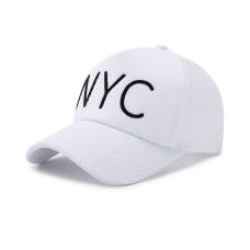 Кепка - бейсболка NYC B-188 - White
