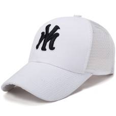 Кепка - бейсболка New York NY A-107 - White