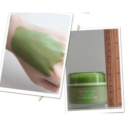 очищающая маска для лица из зеленого чая