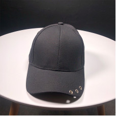 Стильная кепка - бейсболка B18410 Черная