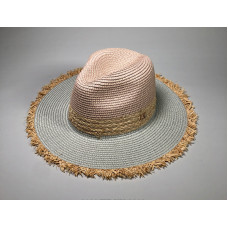 Большая соломенная  шляпа Retro Jazz M A27404 - Beige