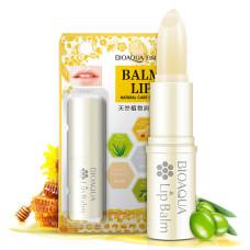 Бальзам для губ c медом Bioaqua Honey Moisturizes Lip Balm Natural Care Of Lips BQY4151