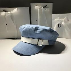 Женская кепи - кепка Jeans blue chrm-009928 Джинс