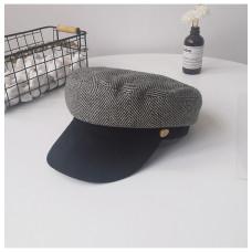 Женская кепи - кепка Retro Velour chrm-9930221 Grey