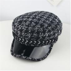 Детская кепи - кепка Black&White M-13080 Черная XS