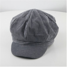 Детская кепи - кепка Peaked Stripes M-1050120 серая