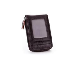 Кожанный картхолдер  Vintage CL-304 Черный