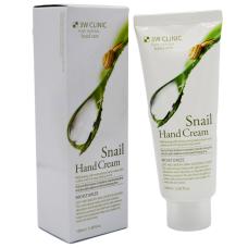 Зволожуючий крем для рук з екстрактом слизу равлика 3W Clinic Snail Hand Cream, 100 мл