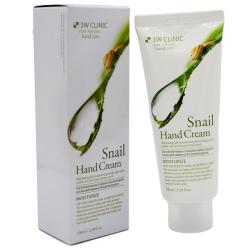 Увлажняющий крем для рук с экстрактом слизи улитки 3W Clinic Snail Hand Cream, 100 мл