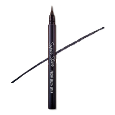 Супер тонкая подводка Etude House Super Slim Proof Brush Liner Black