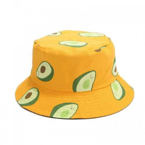 Двухсторонняя панама Avocado Orange YFM650 унисекс
