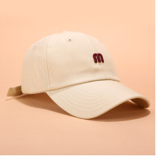 Кепка - бейсболка - M -  бежевая унисекс