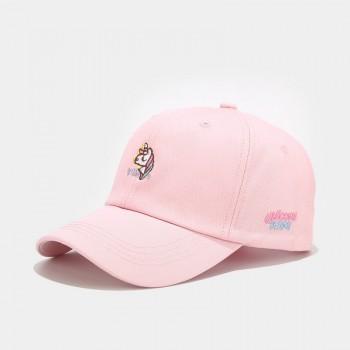 Жіноча Кепка - бейсболка - Unicorn - рожева