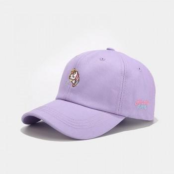 Жіноча Кепка - бейсболка - Unicorn - фіолетова
