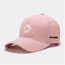 Жіноча Кепка - бейсболка - Chamomile - рожева