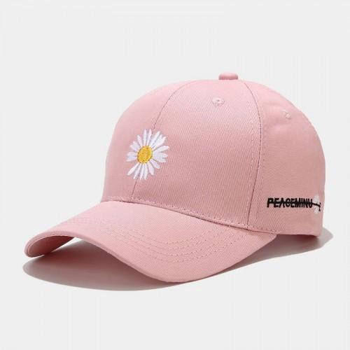 Женская Кепка - бейсболка - Chamomile - розовая