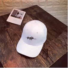 Стильна кепка Thug Life - A19302 унісекс, Біла