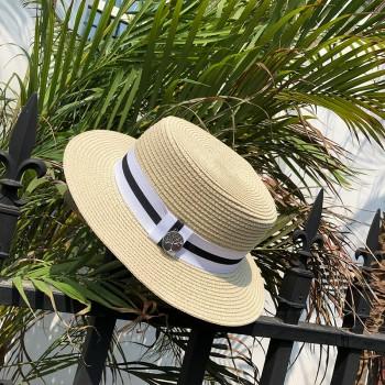 Женская шляпа - однотонная Tree Label chrm-B24316 Бежевая