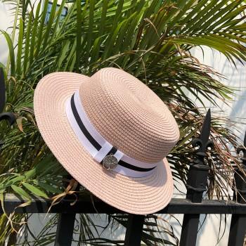 Женская шляпа - однотонная Tree Label chrm-B24316 Светло-розовый