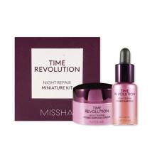 Набор Missha Time Revolution Night Repair Probio Miniature Kit (f/cr/7ml + serum/10ml)