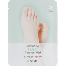 Маска для ног The Saem Pure Natural Foot Treatment Mask