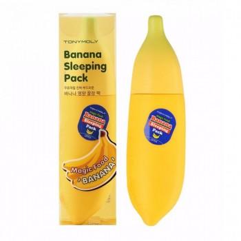 Банановая интенсивно восстанавливающая ночная маска Tony Moly Magic Food Banana Sleeping Pack 85 мл