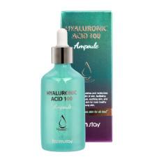 Зволожуюча сироватка з гіалуроновою кислотою FarmStay Hyaluronic Acid 100 Ampoule 100мл