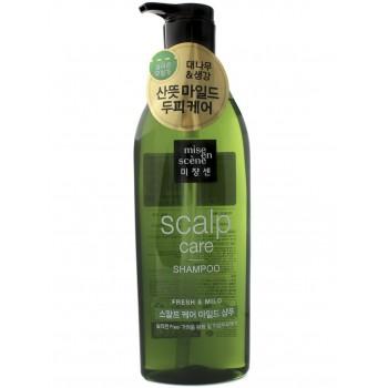 Восстанавливающий шампунь Mise En Scene Scalp Care Shampoo 680мл