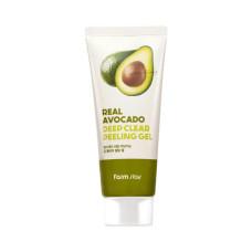Глибоко очищуючий пілінг-гель для обличчя FarmStay Real Avocado Deep Clear Peeling Gel 100 мл