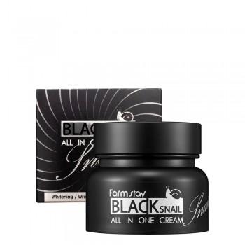 Крем для глаз с муцином черной улитки FarmStay All-In-One Black Snail Cream 100 мл