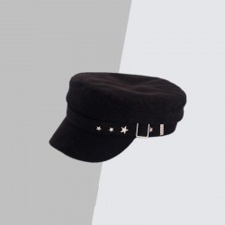 Женская кепи - кепка Stars chrm-19614 Черная