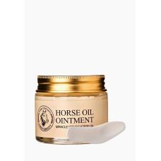 Крем для лица против морщин с лошадиным маслом Bioaqua Miracle Cream Horse Oil BQY0344