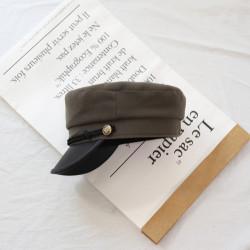 Женская кепи - кепка Classic chrm-1674 Khaki