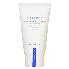 Балансирующая пенка для умывания с экстрактом черники Innisfree Blueberry Rebalancing 5.5 Cleanser 100мл