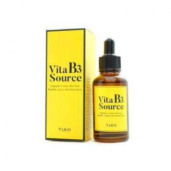Осветляющая сыворотка с ниацинамидом Tiam Vita B3 Sourse Serum  40мл
